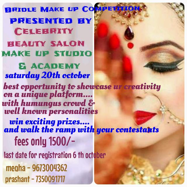 Bride Make Up Competition